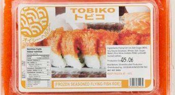 Trứng cá chuồn (xanh đỏ đen tobiko) giá bao nhiêu 2021? Mua ở đâu hà nội, tphcm